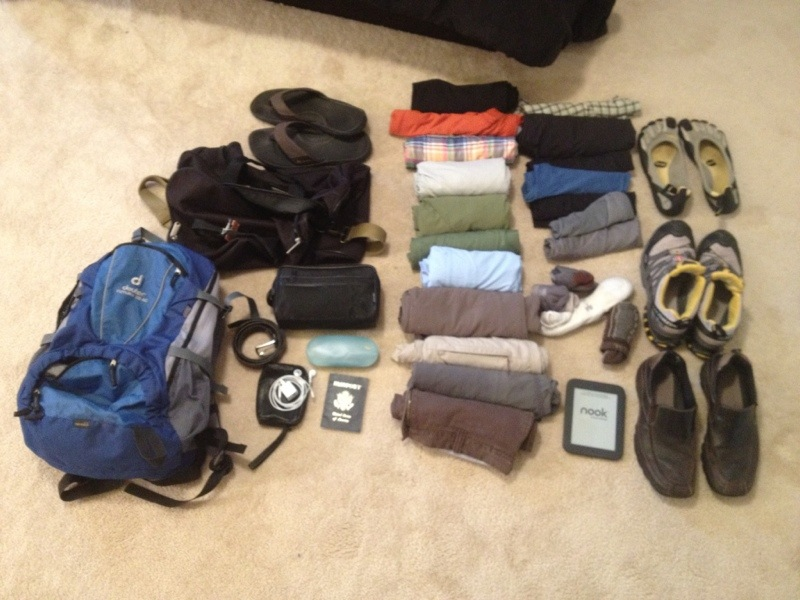 Packing Light Tips for Europe and Travel