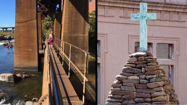 The James River Park Pipeline Walkway is also where Richmond's history began.
