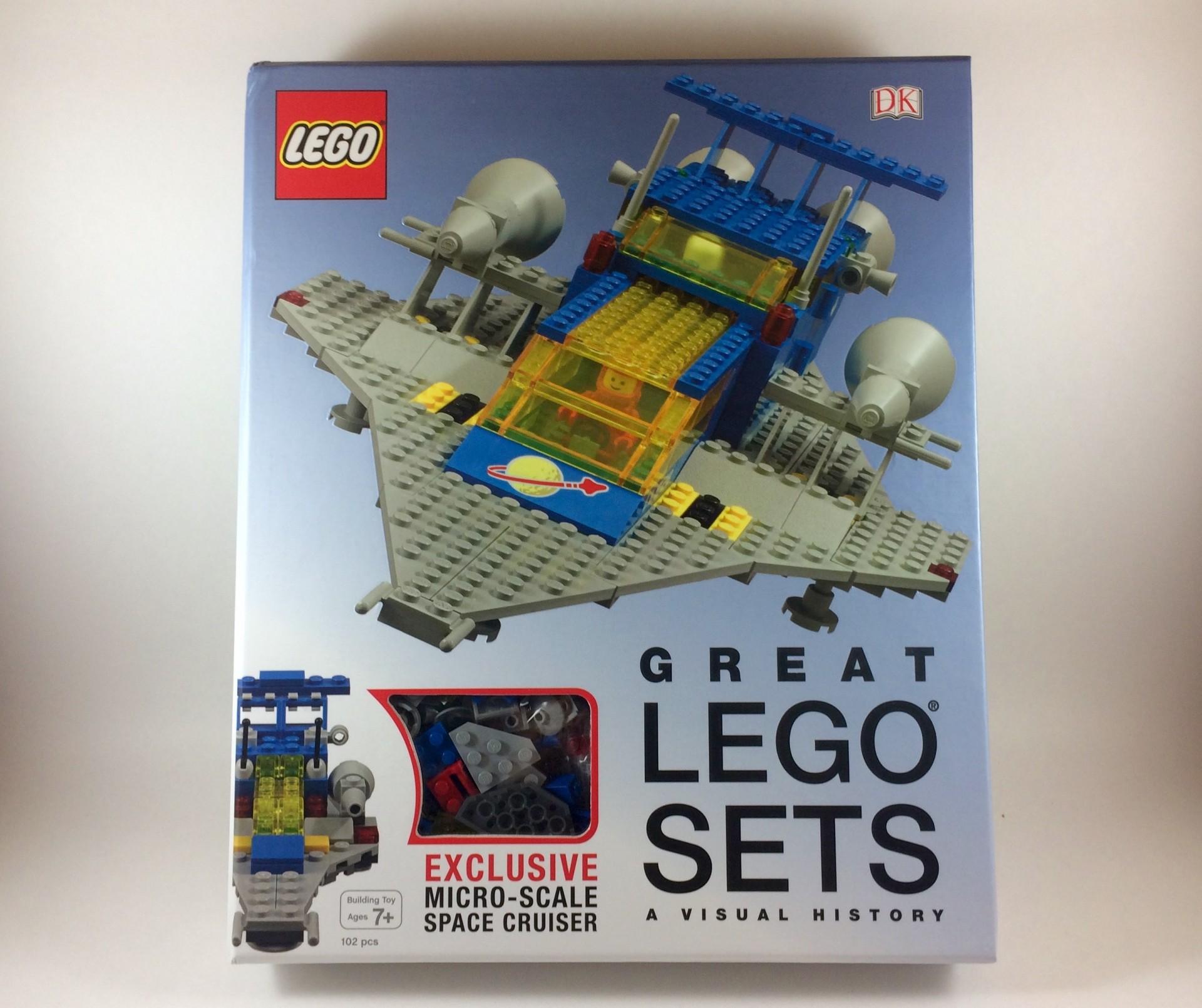 DK Publishing's Great LEGO Sets: A Visual History