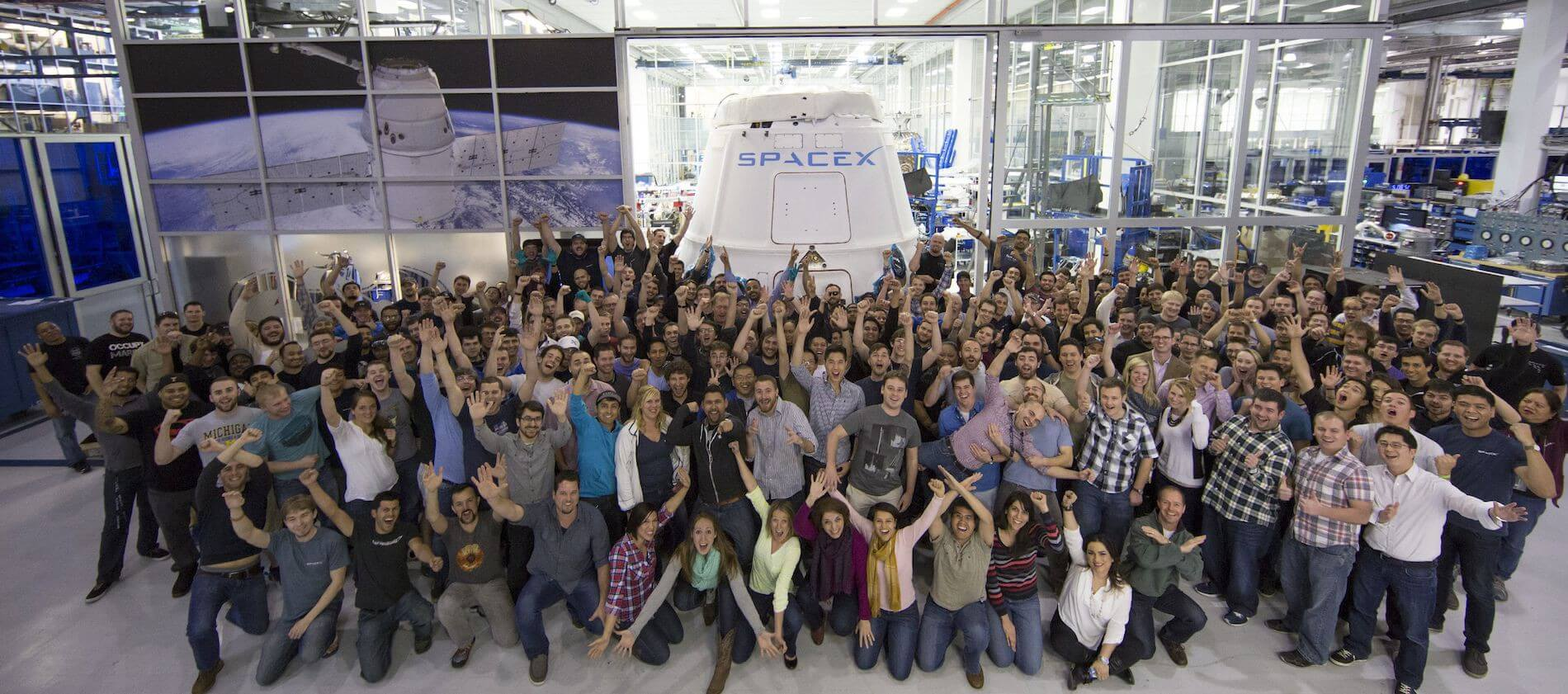 Space Exploration Excitement at SpaceX Dragon Launch